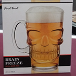 Final Touch Brain Freeze Beer Mug